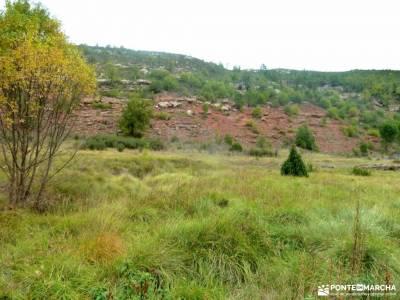 Valle de los Milagros-Cueva de la Hoz; excursiones a madrid plano la pedriza senderismo por la pedri